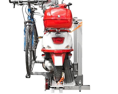 Erweiterung 1 Fahrrad zu Roller